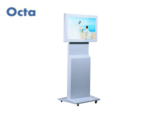 China Free Standing Indoor Digital Signage LCD 1080P Wireless Touch Screen Kiosk supplier