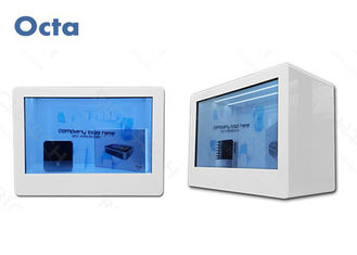 China WIFI / 3G 32 Inch LCD Transparent Screen Display For Shopping Mall 1920 x 1080 supplier