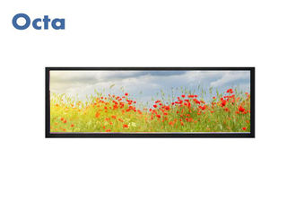China Ultra Thin Stretched LCD Display 500 Nit Brightness Bar Type Sunlight Readable supplier