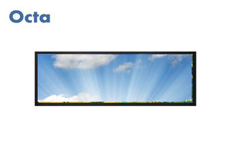 "China 28"" Ultra Wide 16:5 Stretched Bar LCD Digital Signage Support All Language supplier"