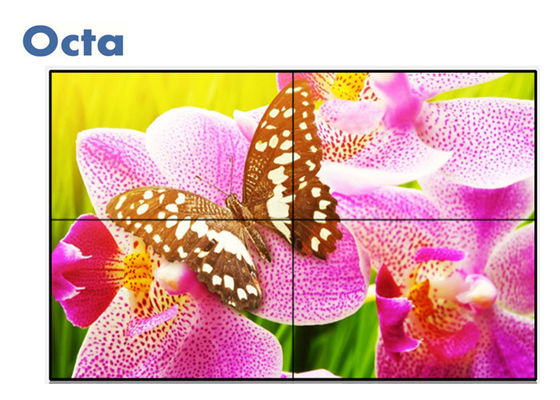 China 6ms Response LCD Video Wall 4 * 4 47 Inch For Exhibition Display With HDMI / VGA supplier