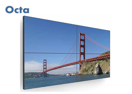 China 49 Inch LCD Digital Information Display Video Wall For Outdoor Advertising supplier