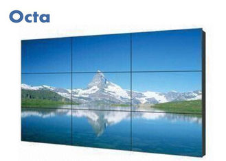 China High Brightness LCD Video Wall 3 * 3 46 Inch With Ultra Narrow Bezel Multi Input supplier