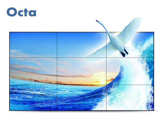 "China FHD 46"" LCD Video Wall Ultra Narrow Bezel LCD Wall Display Indoor Advertising supplier"