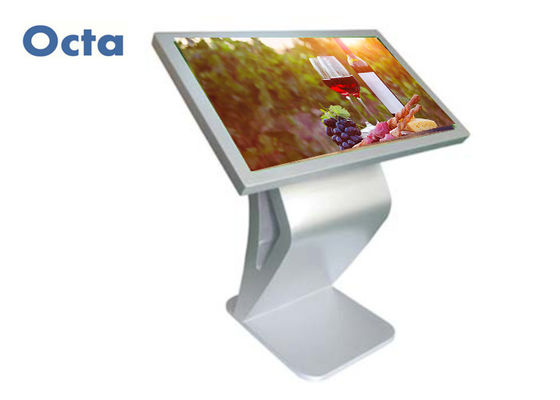 "China OCTA Interactive Touch Kiosk 32"" Support 4GB WiFi 1080P Wide Viewing Angle supplier"