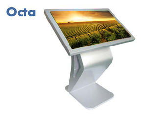 China 65 Inch LCD Interactive Touch Kiosk Kiosk Touch Screen Monitor With Wifi supplier