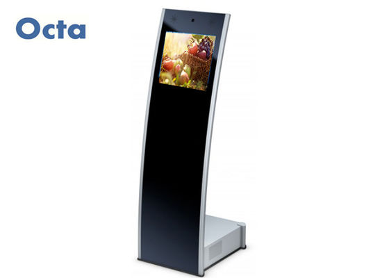 China Information Interactive Touch Kiosk 21.5 Inch Full HD LCD Remote Control supplier