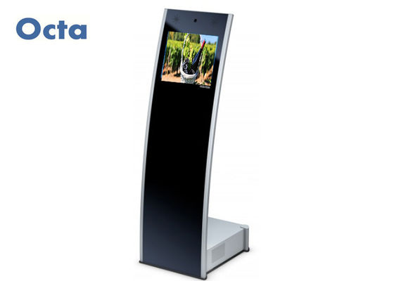 "China 19"" Interactive IR Touch Screen Kiosk Monitor Remote Update Content supplier"