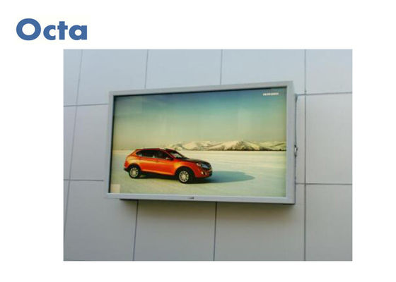 China High Bright Outdoor Digital Signage Double Sides LCD Digital Signage Kiosk supplier