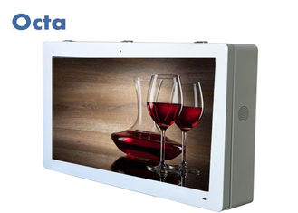 China Waterproof LCD Wall Mounted Advertising Display 6ms Support LAN / WLAN / 3G supplier