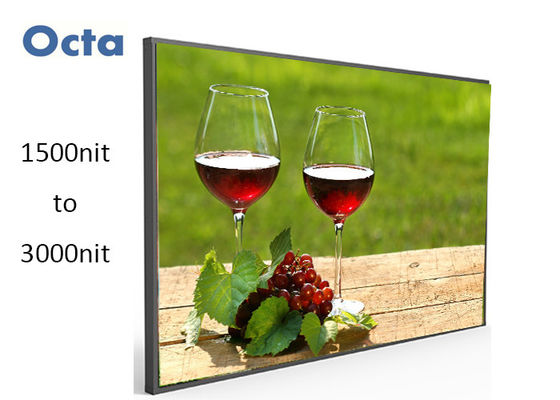 China 2200 Nit High Brightness LCD Display 47 Inch Waterproof Daylight Readable Display supplier