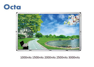 China All Weather High Brightness LCD Display Digital Signage 55 Inch 3000 Nit Outdoor supplier