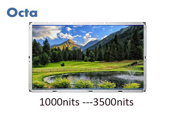 China 65 Inch 500 Nit Digital LCD Open Frame Monitor Outdoor Sunlight Readable supplier