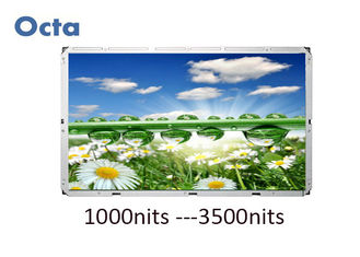 China 55 Inch High Brightness LCD Display 1500 Nit Sunlight Readable LCD Display supplier