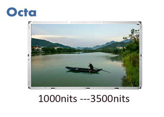 China Large High Brightness Sunlight Readable LCD Monitor 82 Inch Commercial Advertising supplier