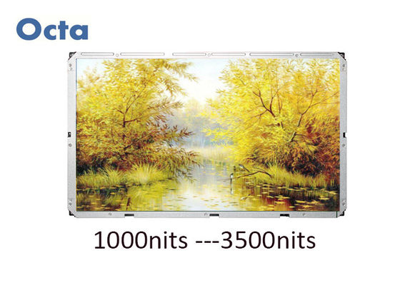 China HD 2000 Nit High Brightness LCD Display 65 Inch LCD Liquid Crystal Display supplier