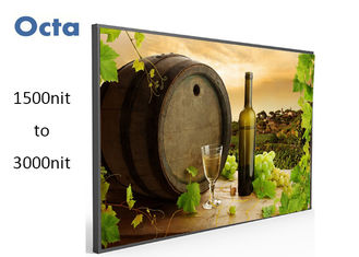 China Full HD 2000 Nit High Brightness LCD Screen For Outdoor AD 42 Inch supplier