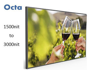 China Waterproof Daylight Readable LCD Display 47 Inch 2000cd/m2 Auto Dimming supplier