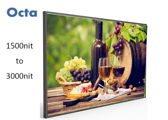 China Outdoor High Brightness LCD Display , 55 Inch High Brightness LCD Monitor supplier