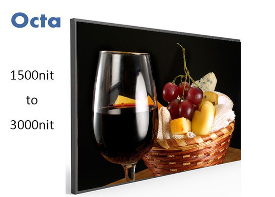 China Outdoor High Brightness LCD Display Sun Readable 55'' Full HD 1920 * 1080 supplier