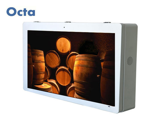 China HD LCD Network Digital Signage Display Hang On The Wall Multi Touch Kiosk supplier