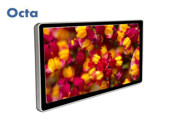 China 65 Inch Indoor Digital Signage LCD Display 3G 4G Wifi Network 1080P supplier