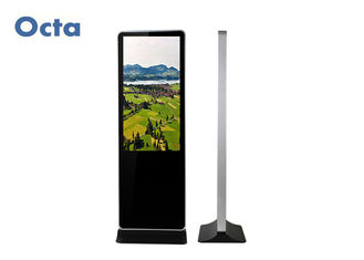 China Indoor Free Standing Digital Signage 1080P 55 Inch LCD Advertising Screen supplier