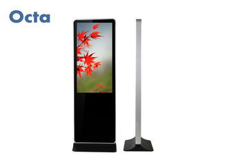 China Full HD Free Standing Digital Signage With IR Touch Screen Steel Metal Shell supplier