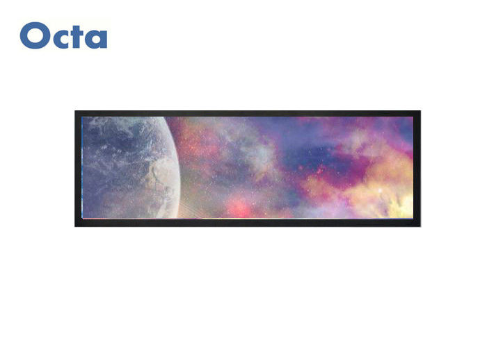 Railway 1920 X 361 RGB Stretched Bar LCD Display For Game