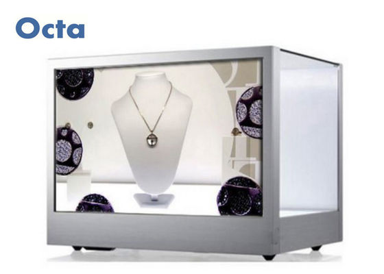 China Horizontal 42 Inch Transparent LCD Display 1920 * 1080P Transparent Video Display factory