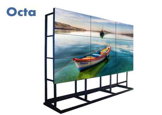 China Original LG LCD Video Wall 55 Inch 3x3 With 5.3mm Bezel RS232 Output distributor