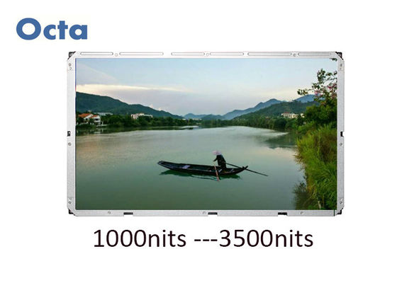 China Large High Brightness Sunlight Readable LCD Monitor 82 Inch Commercial Advertising distributor
