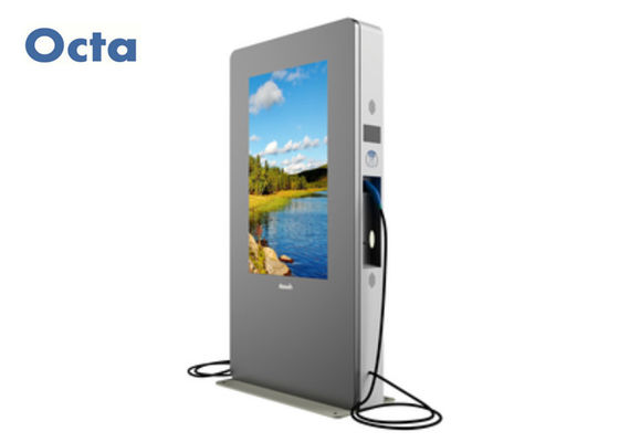 China High Brightness Digital Kiosk Signage Display Stands 2500 nit Waterproof factory