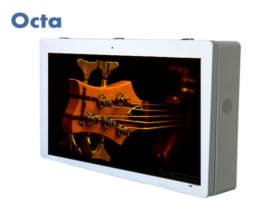 China Waterproof Advertising Stand Alone Digital Signage Kiosk 1920 * 1080P factory