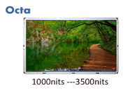 1920 * 1080 HD High Brightness LCD Panel 47inch Intelligent For Bus Station
