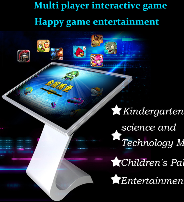 Android / Windows Interactive Touch Kiosk IR Interactive Multi Touch Table