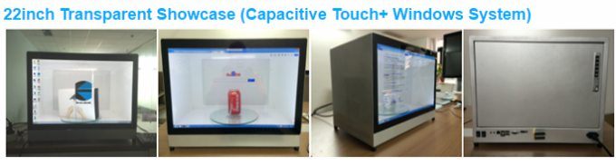HD Commercial Transparent LCD Display Clear Cool Transparent LCD Touch Screen