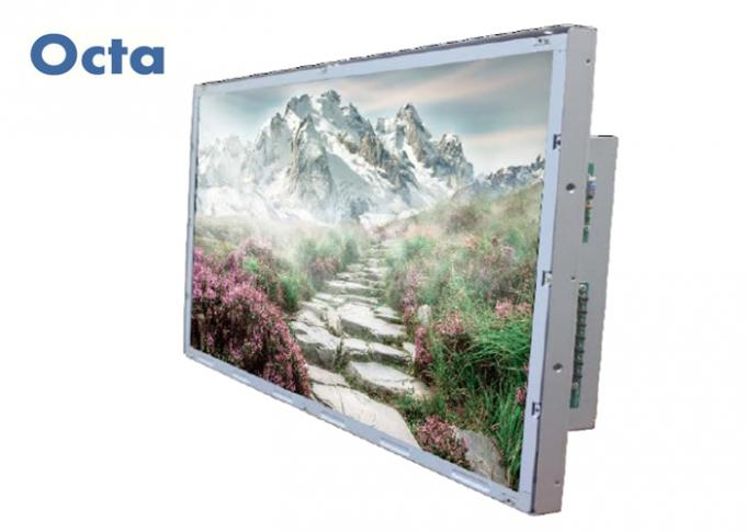 55'' Open Frame LCD Monitor 2500 Nit Frameless HD For Outdoor Advertising